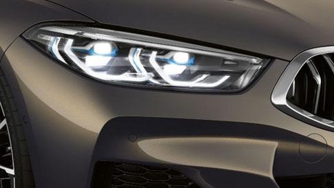 Luz láser BMW