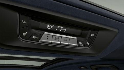 Aire acondicionado automático con control en 5 zonas