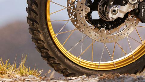 Equipamiento de neumáticos Enduro