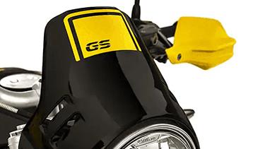 Parabrisas con logotipo GS