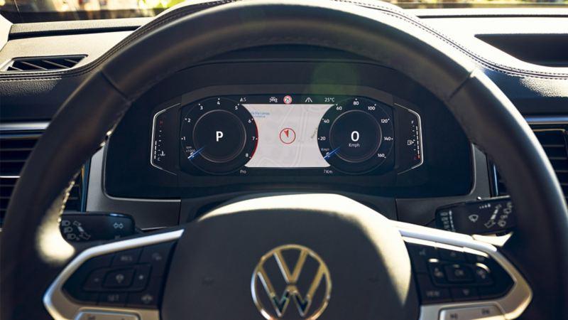 Volkswagen Digital Cockpit con Sistema de Navegación