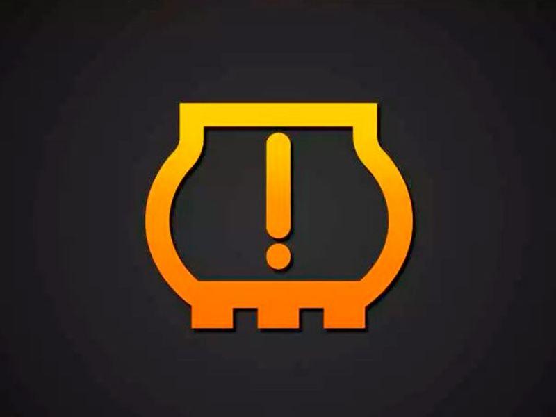 Testigo de pérdida de presión de neumáticos