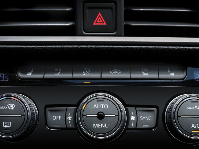Asientos delanteros con calefacción y ventilación