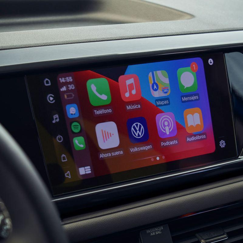 Volkswagen Wire & Wireless App-Connect (control de aplicaciones desde el radio para Smartphone)2