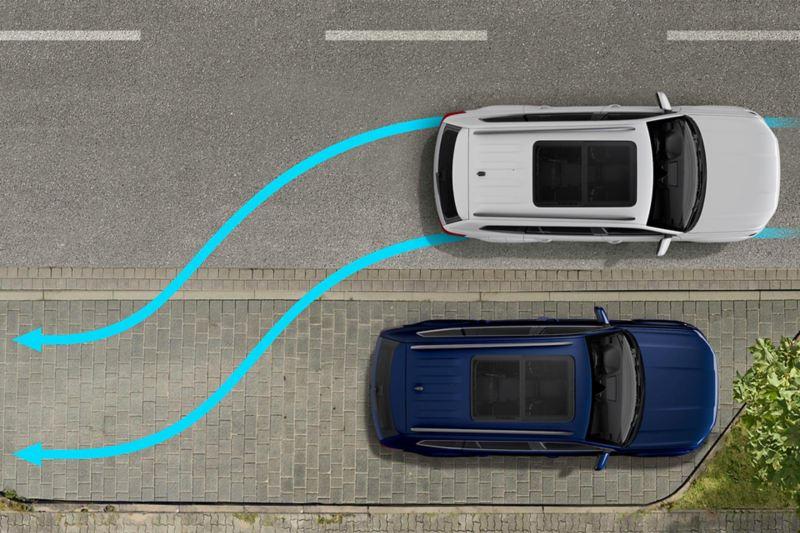 Asistente de aparcamiento Volkswagen